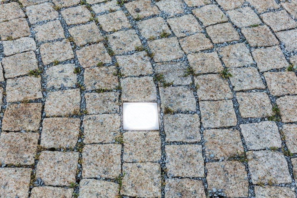 LED Pflasterstein Bodenleuchte Gartenstrahler Bodeneinbauleuchte Außenleuchte IP67 230V (Neutralweiß 10x20cm rechteckig #PF2) Neutralweiß 10x10cm Quardatisch #Pf3