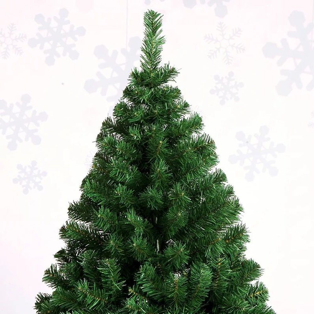 Hengda® Árbol de Navidad Artificial PINOS único Árbol Decorativo con soporte metálico Christmas 150CM Verde con 350ramas material PVC: Amazon.es: Hogar