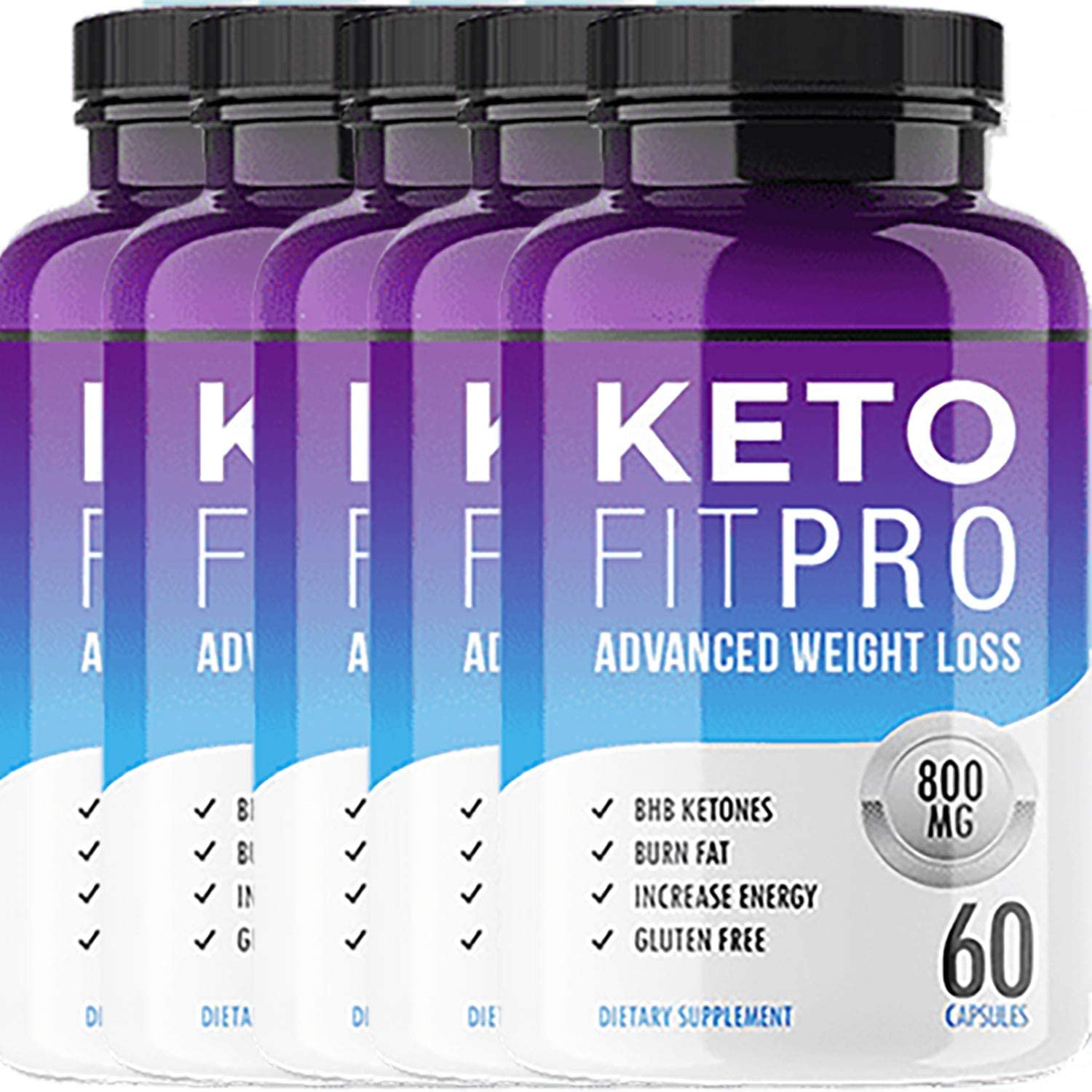 Keto Fit Pro – Advanced Ketosis Weight Loss – Premium Keto Diet Pills – Burn Fat for Energy not Carbs 5 Month Supply