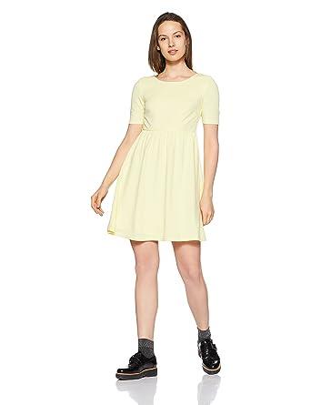 34cda7c6848ec VERO MODA Women s A-Line Dress  Amazon.in  Clothing   Accessories