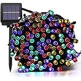 Garten & Terrasse Tuokay Solar Lichterkette Außen 22m 200 Led 8 Modi Wasserdicht Led Außenlichter