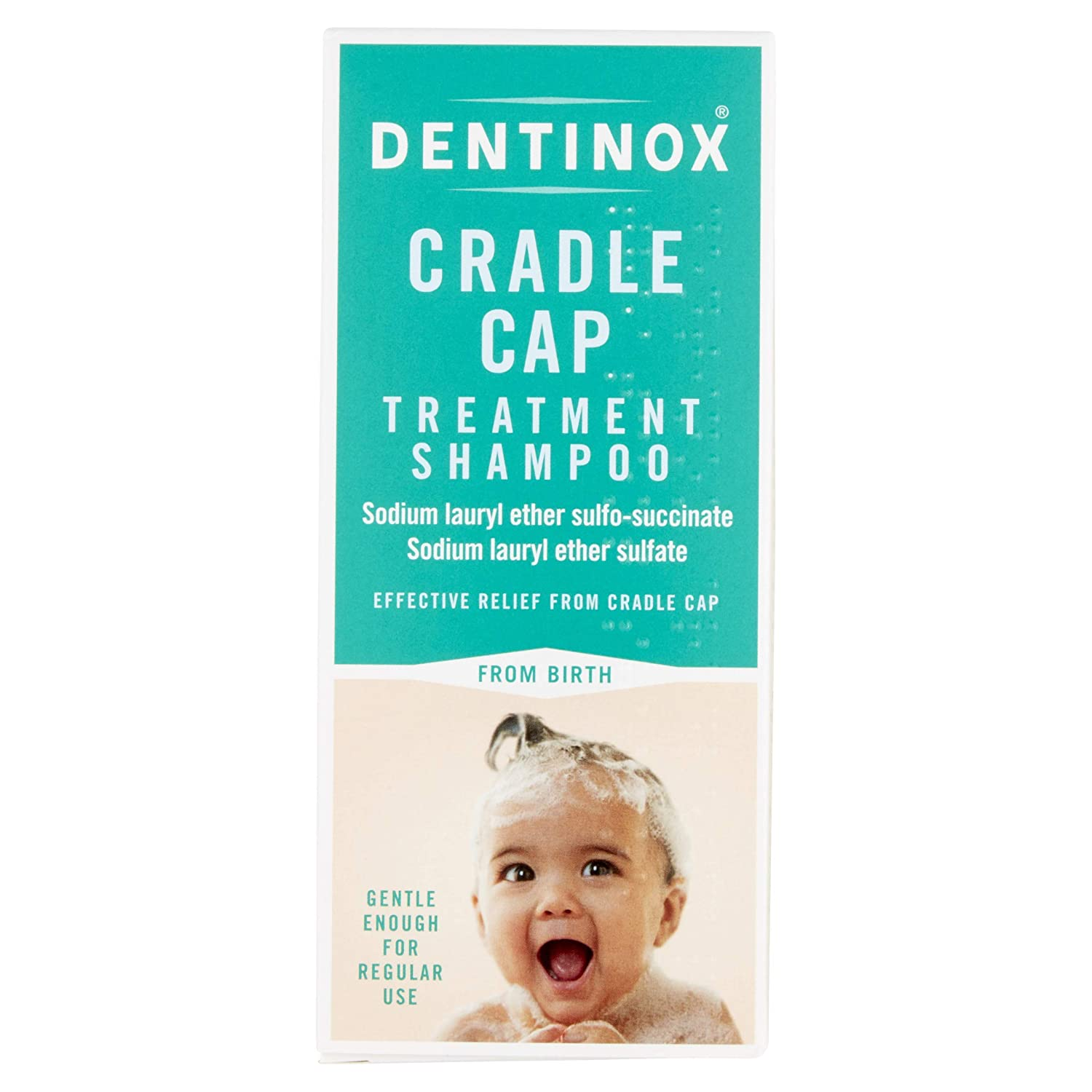 114c10316 Dentinox Cradle Cap Treatment Shampoo for Babies