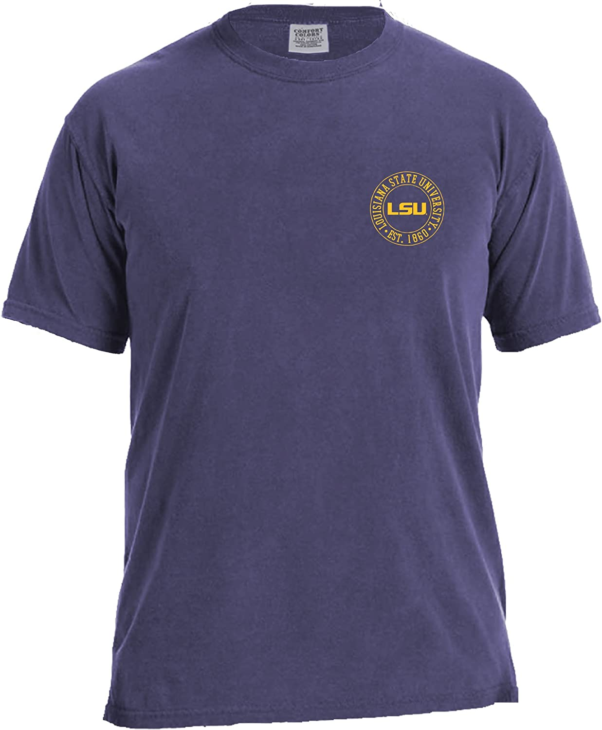 Image One NCAA Campus Building Short Sleeve Comfort Color Tee