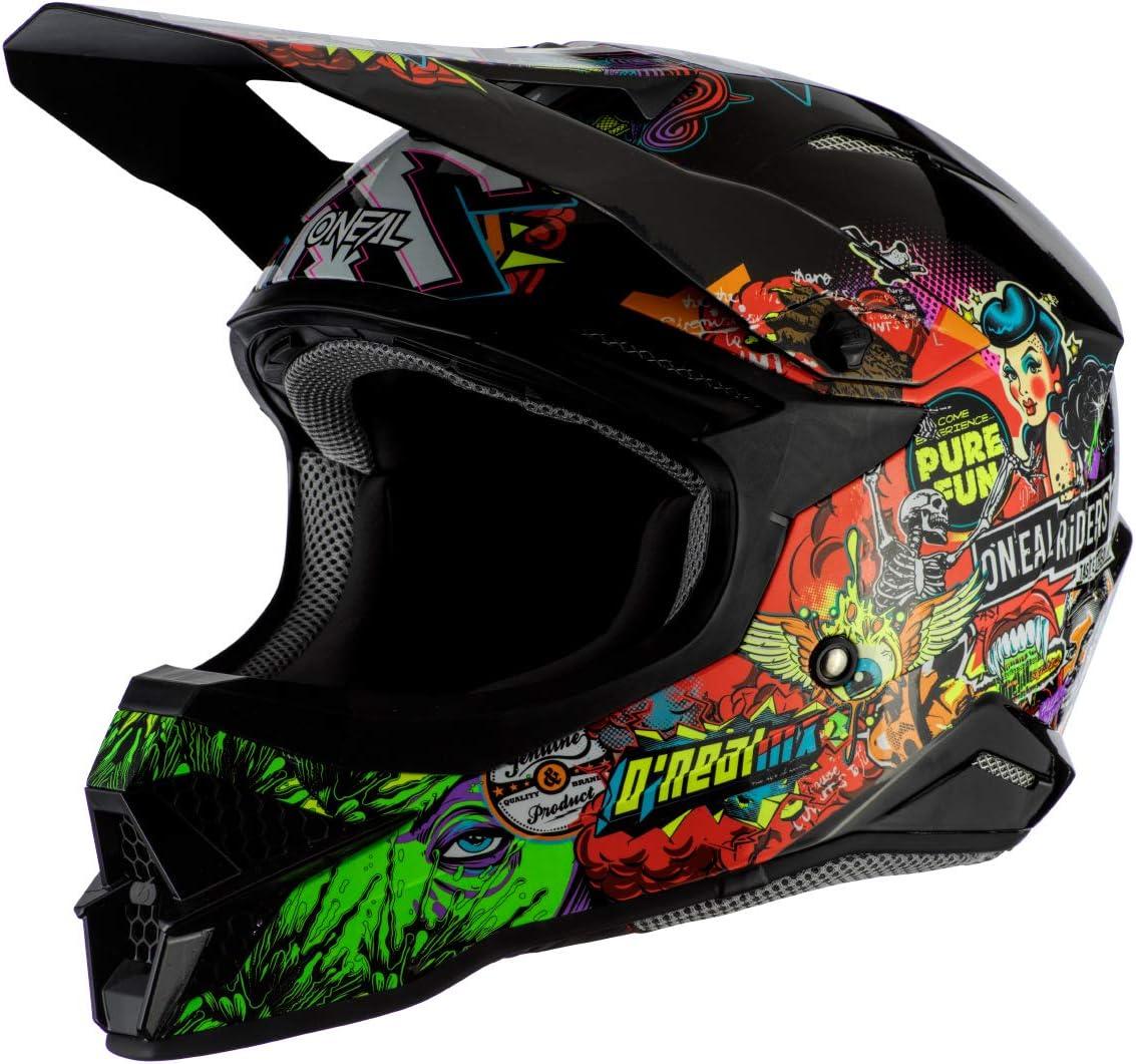 ONeal 3 Series Unisex-Adult Off-Road Helmet Multi, XS