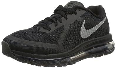 Nike Women s Air Max 2014 Black Rflct Slvr Anthrct Drk Gr Running Shoe 9c699f04b9