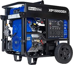 DuroMax XP15000EH Dual Fuel Portable Generator