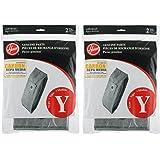 Hoover Type Y Carbon HEPA Bag (4-Pack), AH10165