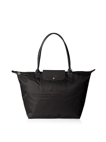 Longchamp Le Pliage Neo Black Tote Handbag  Amazon.co.uk  Shoes   Bags 1e27f92179b10