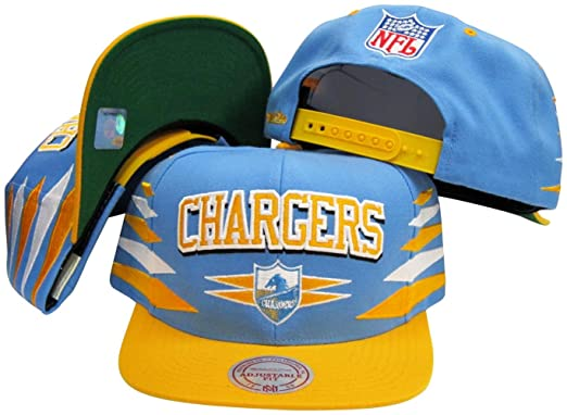 716acc7e704c32 Image Unavailable. Image not available for. Color: San Diego Chargers  Mitchell & Ness Throwback Diamond 2 Tone Adjustable Snapback Hat