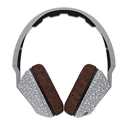 af57f831453 Amazon.com: Skullcandy Crusher Headphones with Built-in Amplifier and Mic,  Microfloral Grey and Black: Home Audio & Theater