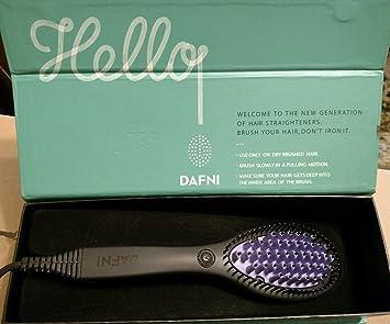 Dafni – 100% original – Cepillo eléctrico alisador para el pelo