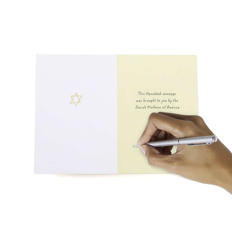 Amazon Hallmark Tree Of Life Funny Hanukkah Greeting Card Eat