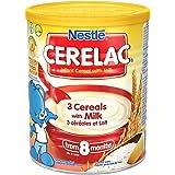 Nestle Cerelac 3 cereals with milk 400gm