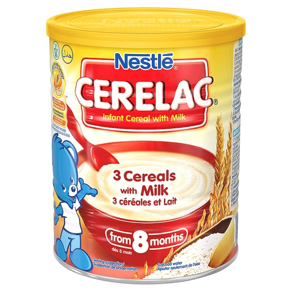 Nestle Nestum 3 Cereals, 14.1-Ounce (Pack Of 6): Amazon