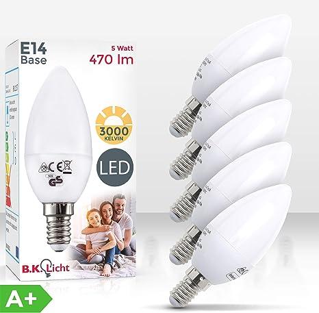 LED Lampe Birne Kerze Tropfen Leuchte Glühlampe Glühbirne Leuchtmittel Licht