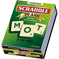 Calendrier 365 jours avec Scrabble - L'Année à Bloc