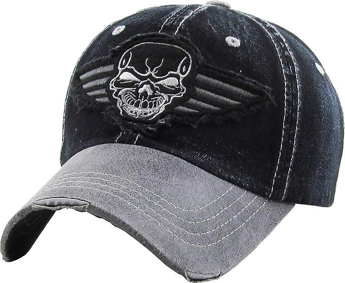 03bfbcf721f KBVT-609 BDM Fashion Vintage Baseball Cap Distressed Washed Dad Hat  Adjustable