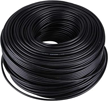 GHFP Cable coaxial RF (75-5), Longitud: 180 m: Amazon.es: Electrónica