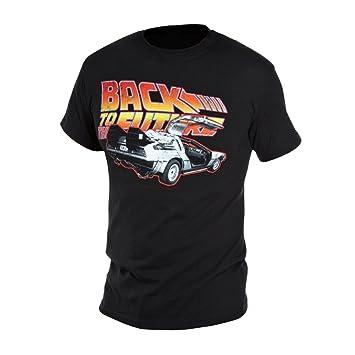 Camiseta Back To The Future Motivo  Delorean  Amazon.es  Juguetes y ... 711b809ed27