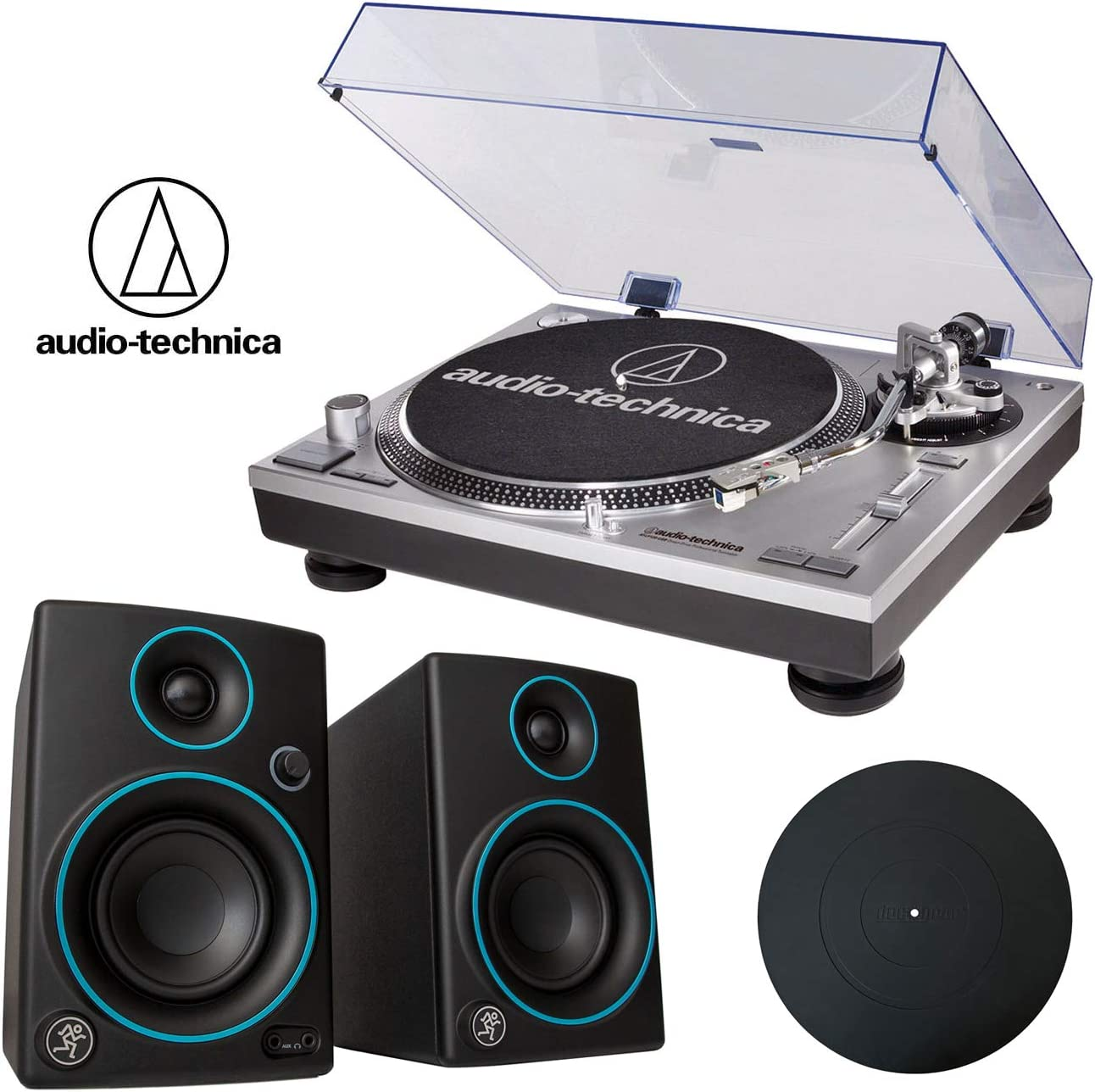 Amazon.com: Audio-Technica ATLP120USB - Tocadiscos estéreo ...