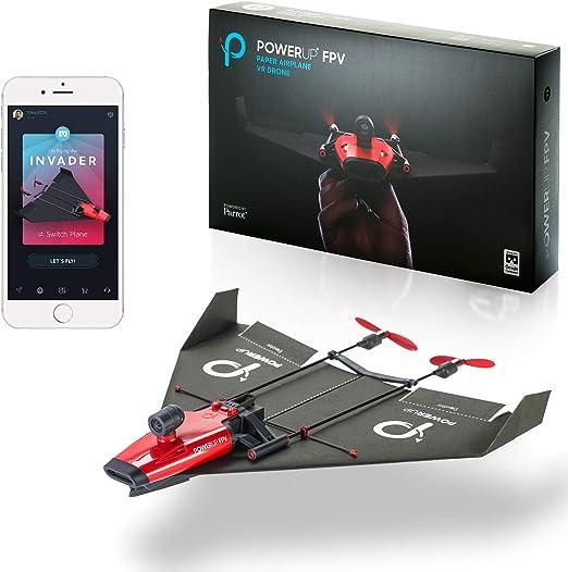 POWERUP FPV - Avión de Papel controlado para Smartphone con cámara ...