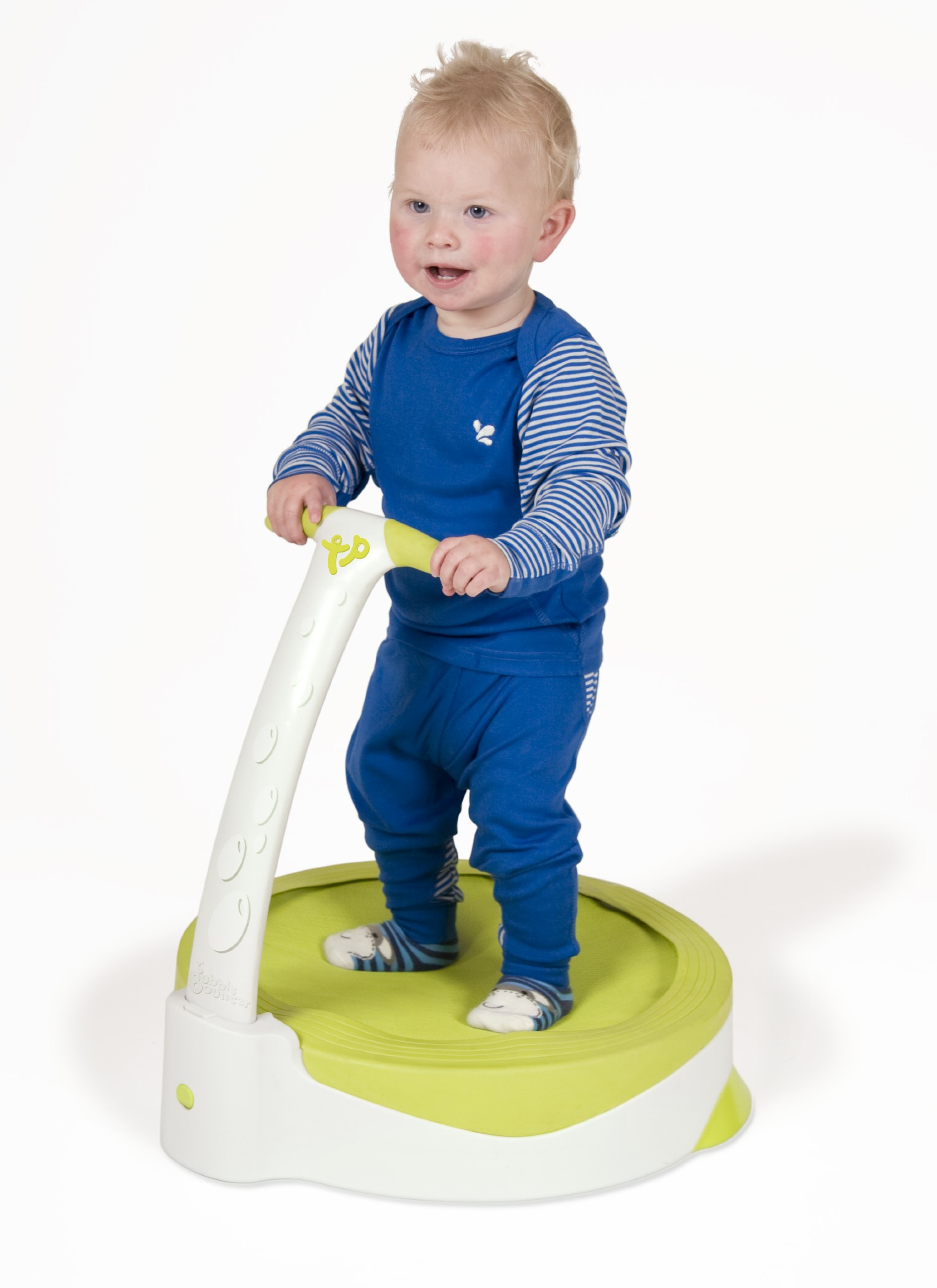 TP Toys Baby Bubble Bouncer Toddler Trampoline with Handle