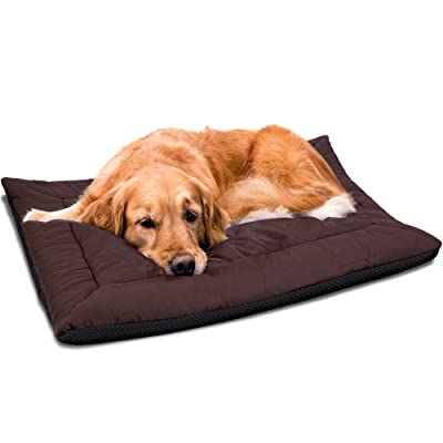 """Paws & Pals 37"""" x 25"""" Inches Self Warming Pet Bed Cushion Pad Dog Cat Cage Kennel Crate Soft Cozy Mat"""