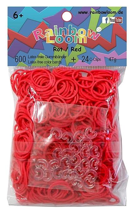 49 opinioni per Rainbow Loom Bande di Gomma Rossa, 600 pezzi