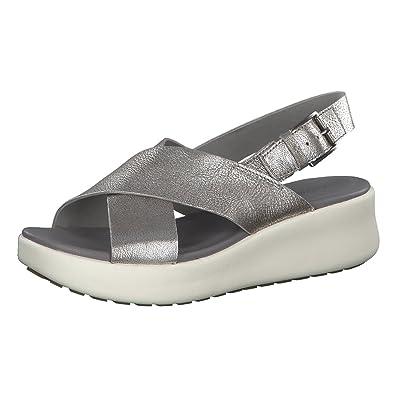 Timberland Ellis Street Oxford Grau, Damen EU 38.5 - Farbe Silver Damen Silver, Größe 38.5 - Grau