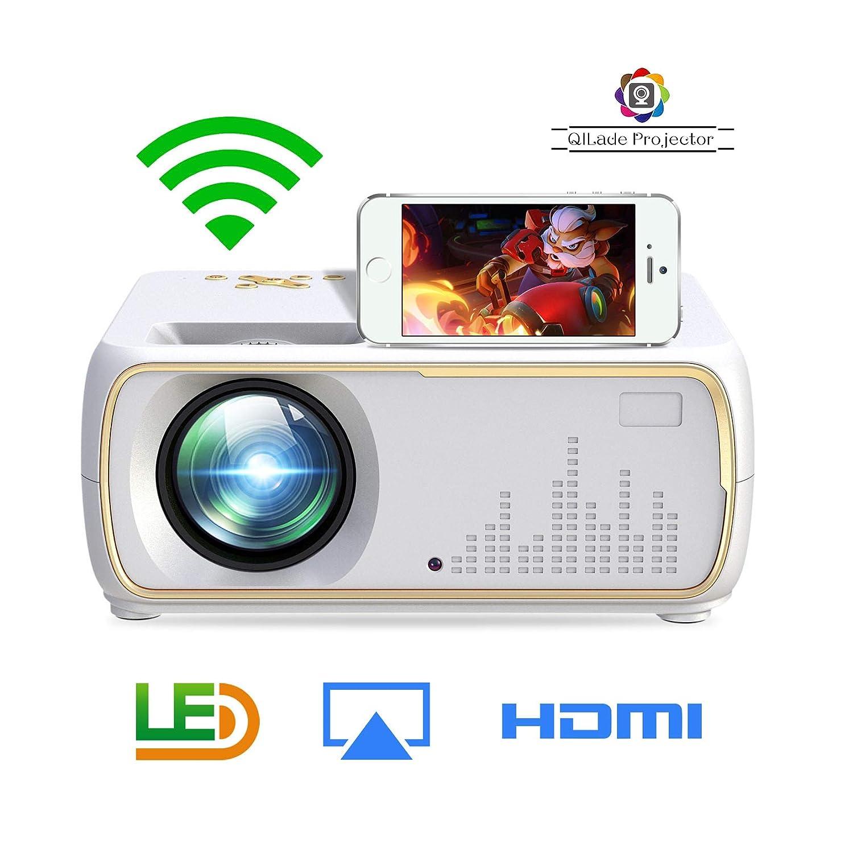 Proyector de Video LED con 2200 lúmenes,proyector LCD de Cine en ...
