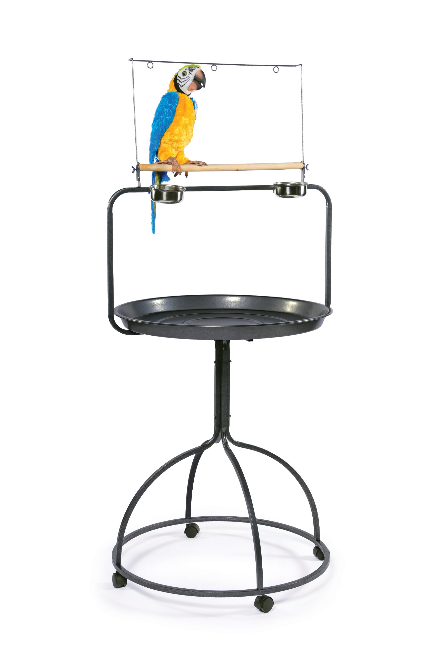 Prevue Hendryx 3183 Parrot Playstand, Round by Prevue Hendryx