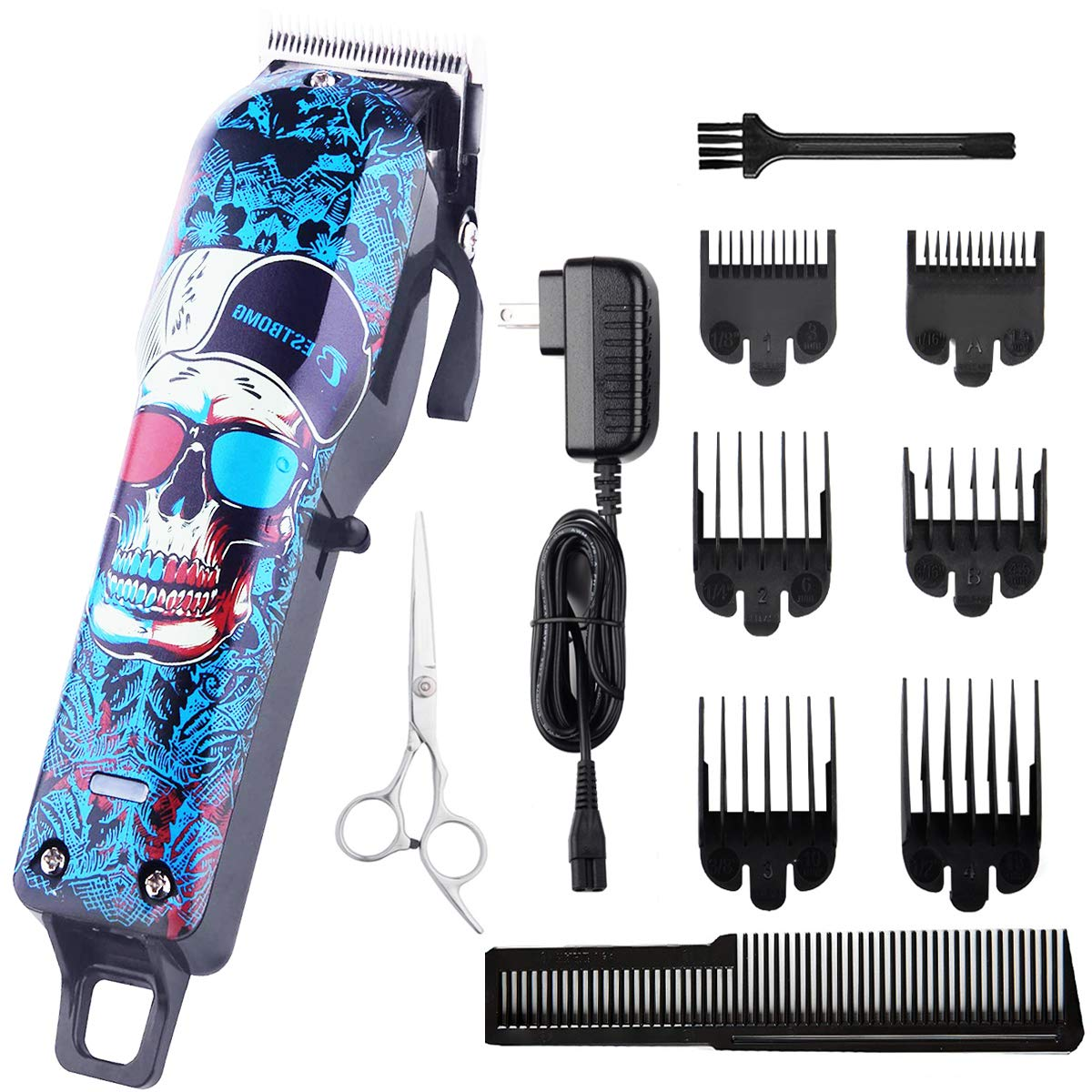 Skull Pro Cordless Hair Clippers