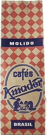 Cafés AMADOR - Café MOLIDO FINO Natural Arábica - BRASIL ...