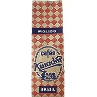 Cafés AMADOR - Café MOLIDO FINO Natural Arábica - BRASIL PINHAL (Molienda para Cafetera Italiana / Espresso) (2x250g…