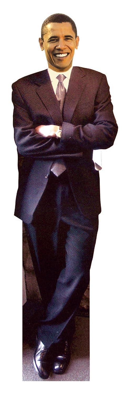 Aahs Engraving Life Size Barack Obama Smiling Novelty Cardboard Standup, 6 feet OBAMASMILESTANDUP