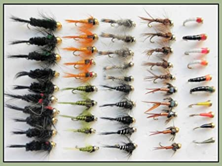 50 Goldhead Buzzer and Nymph/'s