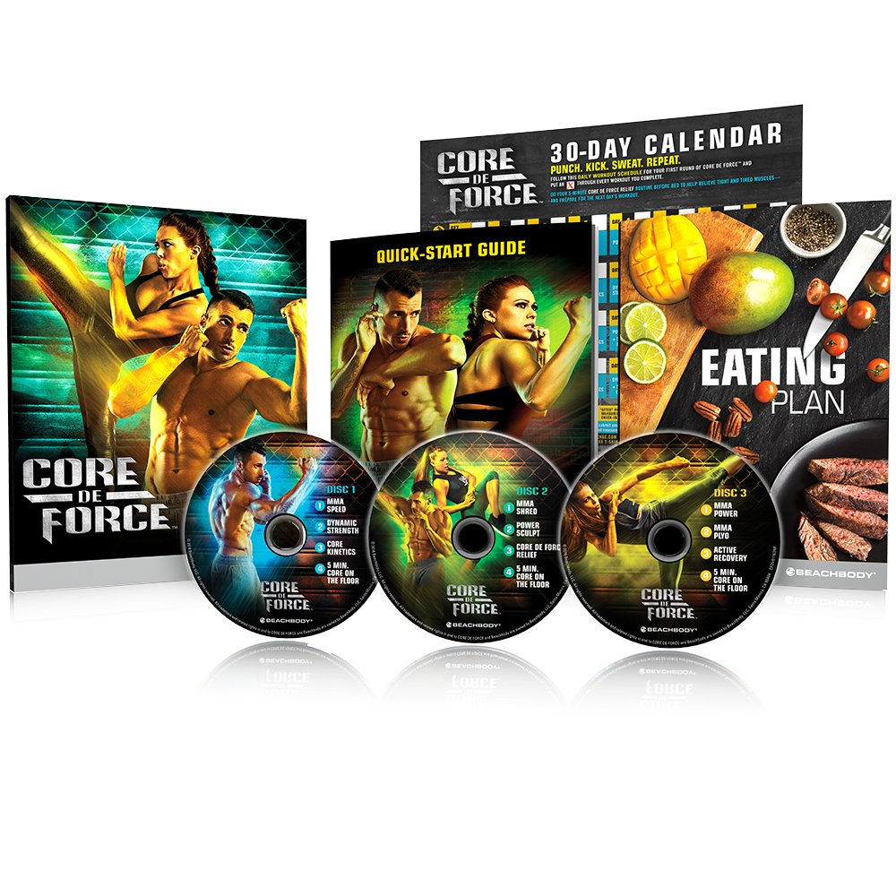 Beachbody Core De Force Base Kit Dvd Workout Program Cd Writer 8211 How The Burner Works Mma Inspired Created By Sports Outdoors