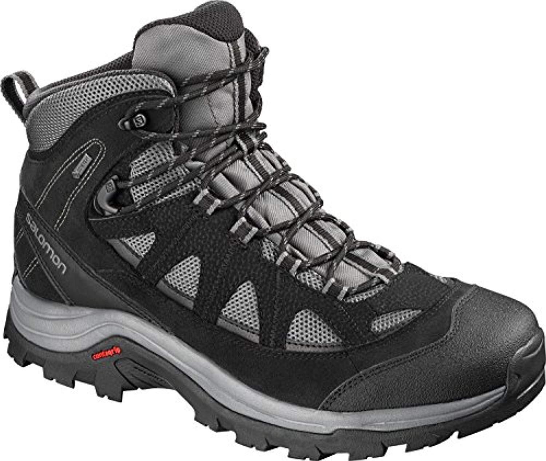 Salomon Authentic LTR GTX, Zapatillas de Running para Asfalto para Hombre 45 1/3 EU|Gris (Magnet/Black/Quiet Shade Magnet/Black/Quiet Shade)
