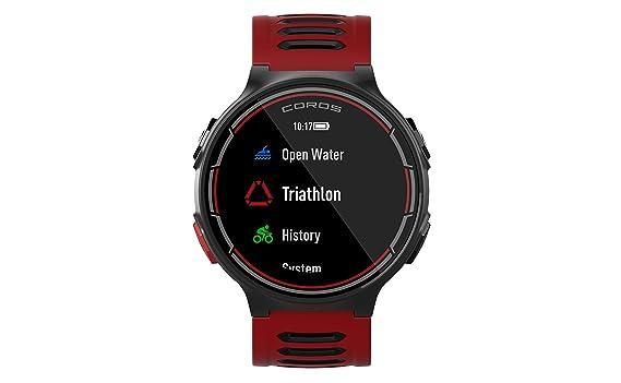 COROS Reloj Deportivo GPS Pace con monitorización de frecuencia cardíaca en la muñeca | Incluye Funciones de Correr, Ciclismo, natación y triatlón ...