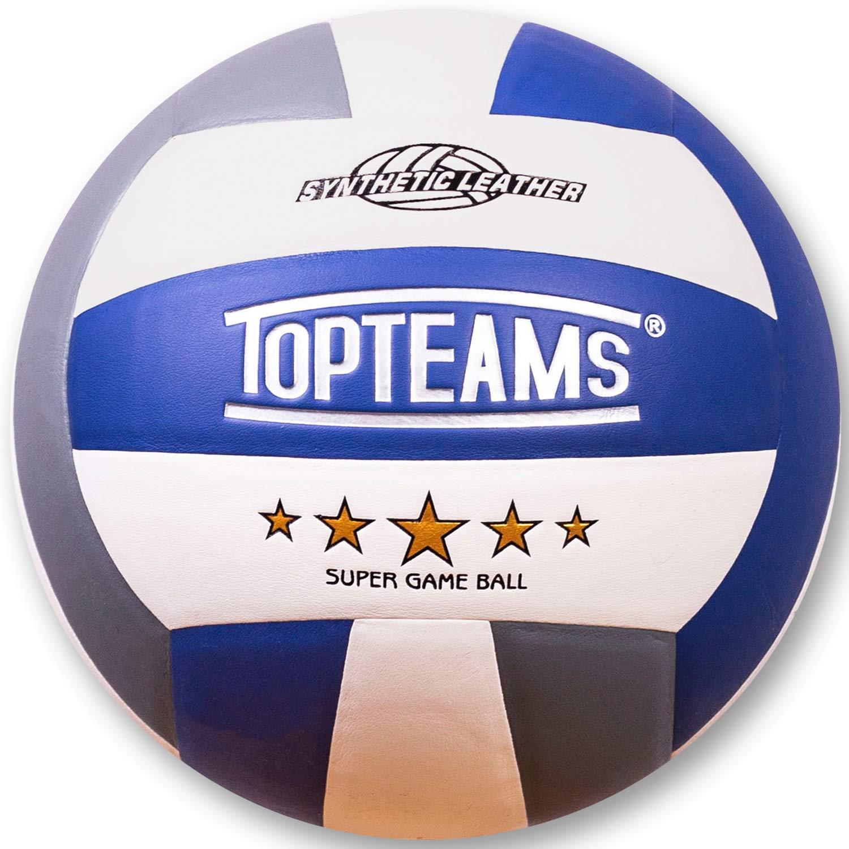 Acehmks Volleyball,Balón de Voleibol de Playa, Talla 5 (Azul/White ...
