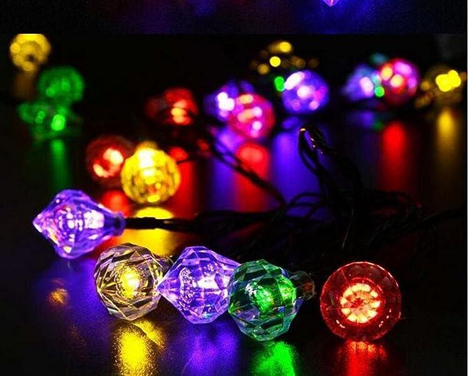 Catena di luci luce a strisce da 20 led a led con coperture a forma di