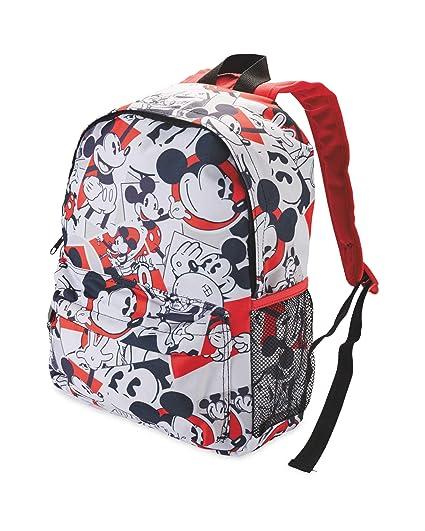 Mickey Mouse - Mochila Infantil Negro Blanco Talla única