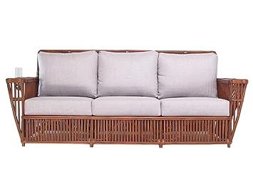 Amazon.com: kingrattan.com - Sofá de mimbre para sala de ...