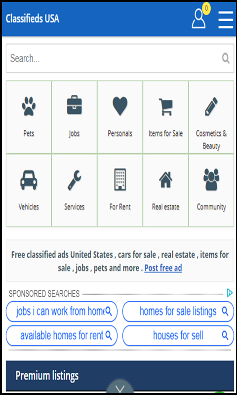 Amazon com: FREE CLASSIFIED ADS ONLINE: Appstore for Android