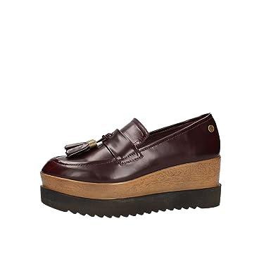 Carmela 65876 Mocassins Femme Noir - Chaussures Mocassins Femme