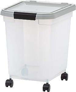 IRIS USA, Inc. 32.5 Quart Airtight Pet Food Container, Gray