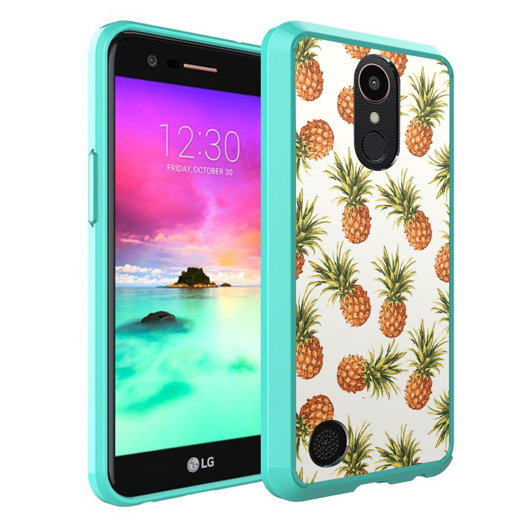 LG K20 Plus/LG K20V Case, Harmony Grace LTE Capsule-Case Hybrid Slim Snap-on Case w/TPU Edge (Teal Green) for K20Plus / Amazon.com: