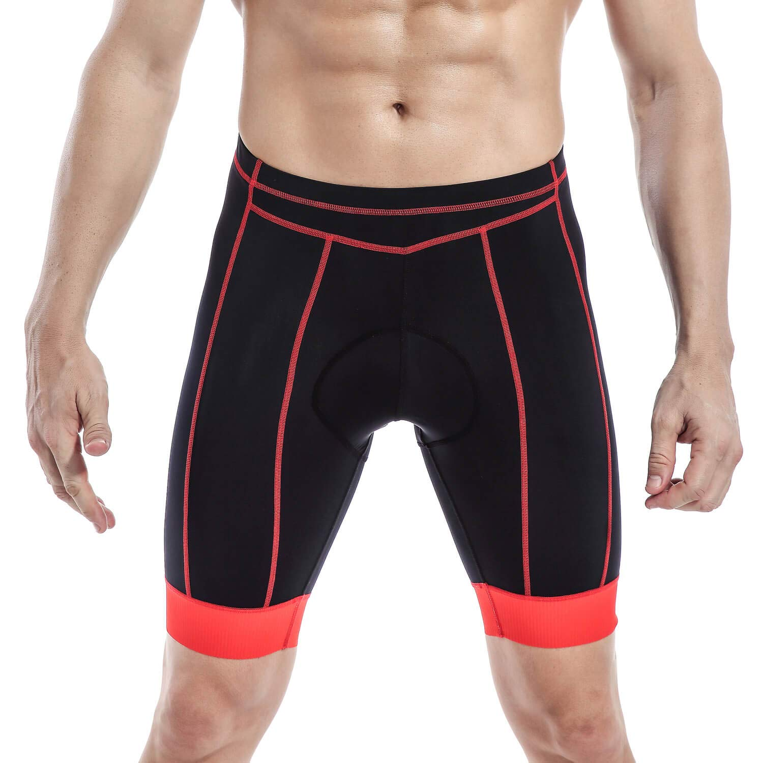Men's Bike Shorts Padded Bicycle Riding Pants Cycling Clothes Cycle Wear Tights