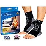 DR.ANISON Ankle Brace Sleeve Support Plantar Fasciitis Compression socks Premium Foot Sleeve For Men Women Foot Pain Relief Heel Pain Treatment Sock