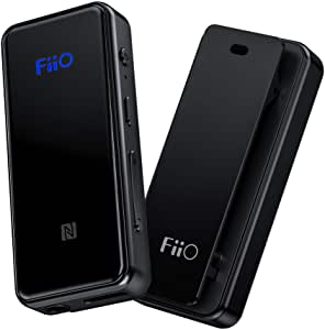 FiiO BTR3 HiFi Bluetooth Receiver with aptX/aptXHD/aptXLL/LDAC/AAC Support, Portable Mini Music Audio Receiver for Home TV,Speaker,Car Stereo, NFC Pairing, USB DAC,and Type USB C Port